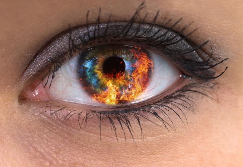 Burning in the Eyes